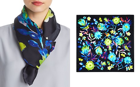 Echo Melba Floral Print Silk Square Scarf - Bloomingdale's_2