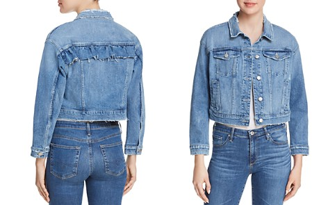 Joe's Jeans Ruffle Denim Jacket in Holmby - 100% Exclusive - Bloomingdale's_2