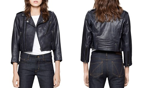 Zadig & Voltaire Liyo Leather Jacket - Bloomingdale's_2