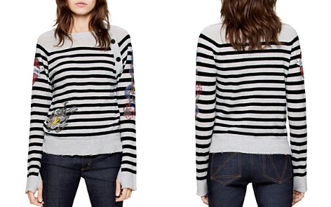 Zadig & Voltaire Reglis Bis Cashmere Sweater - Bloomingdale's_2