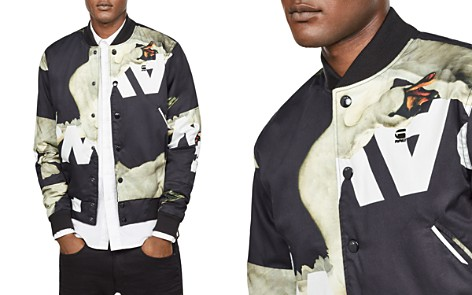 G-STAR RAW Rackam Sports Bomber Jacket - Bloomingdale's_2