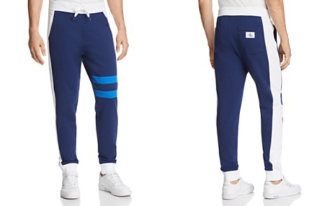 Calvin Klein Athletic College Stripe Sweatpants - Bloomingdale's_2