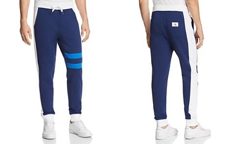 Calvin Klein Athletic College Stripe Sweatpants - Bloomingdale's_2