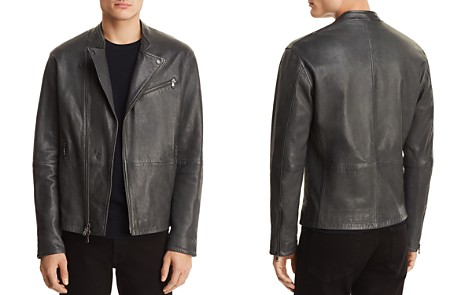 John Varvatos Star USA Leather Biker Jacket - 100% Exclusive - Bloomingdale's_2