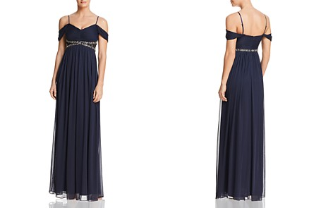 Decode 1.8 Draped Cold-Shoulder Gown - Bloomingdale's_2