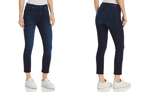 PAIGE Hoxton High Rise Crop Jeans in Luella - 100% Exclusive - Bloomingdale's_2