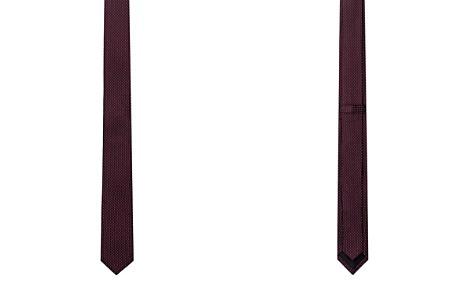 The Kooples Jacquard Grid Dot Skinny Tie - Bloomingdale's_2