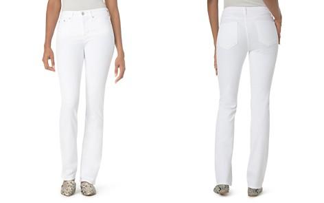 NYDJ Marilyn Straight-Leg Jeans in Optic White - Bloomingdale's_2