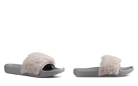 UGG® Royale Shearling Pool Slide Sandals - Bloomingdale's_2