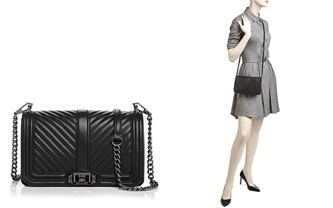Rebecca Minkoff Chevron Quilted Love Leather Crossbody - Bloomingdale's_2