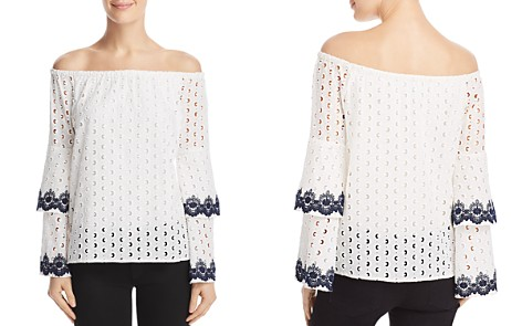 Bailey 44 Phlox Eyelet Off-the-Shoulder Top - Bloomingdale's_2