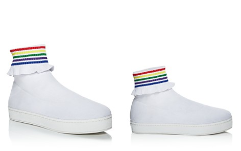 Opening Ceremony Women's Bobby Ruffled Sock Slip-On Sneakers - Bloomingdale's_2