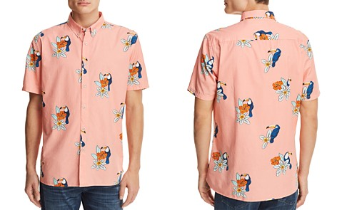 Barney Cools Toucan Short Sleeve Button-Down Shirt - 100% Exclusive - Bloomingdale's_2