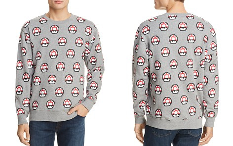 Barney Cools x Nintendo Toad Crewneck Sweatshirt - 100% Exclusive - Bloomingdale's_2