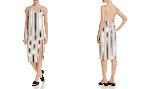 Muche et Muchette Faustine Striped Chain-Strap Slip Midi Dress - Bloomingdale's_2