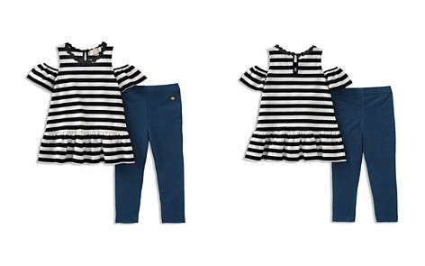 kate spade new york Girls' Striped Cold-Shoulder Top & Leggings Set - Little Kid - Bloomingdale's_2