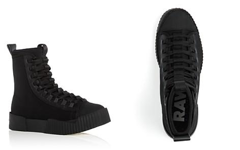 G-STAR RAW Men's Rackam Scuba II Neoprene High Top Sneakers - Bloomingdale's_2
