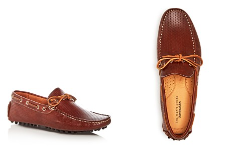 The Men's Store at Bloomingdale's Men's Perforated Leather Moc Toe Drivers_2