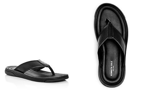 Kenneth Cole Men's Yard Leather Flip-Flops - Bloomingdale's_2