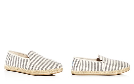 TOMS Women's Deconstructed Alpargata Striped Espadrille Flats - Bloomingdale's_2