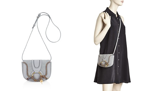 See by Chloé Hana Mini Leather and Suede Bag - Bloomingdale's_2