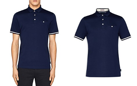 Ted Baker Puggle Stripe-Cuff Regular Fit Polo Shirt - Bloomingdale's_2