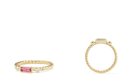 David Yurman Novella Ring in Pink Tourmaline with Diamonds - Bloomingdale's_2
