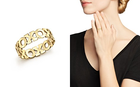 Zoë Chicco 14K Yellow Gold XO Eternity Ring - Bloomingdale's_2