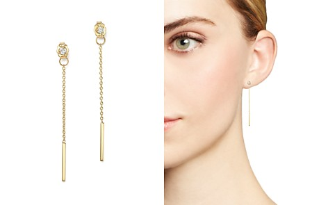 Zoë Chicco 14K Yellow Gold Diamond & Chain Drop Earrings - Bloomingdale's_2