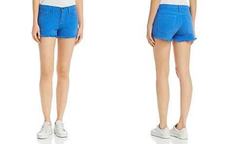 FRAME Le Cutoff Frayed Denim Shorts - Bloomingdale's_2