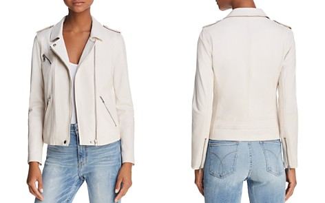 Rebecca Taylor Washed Leather Moto Jacket - Bloomingdale's_2