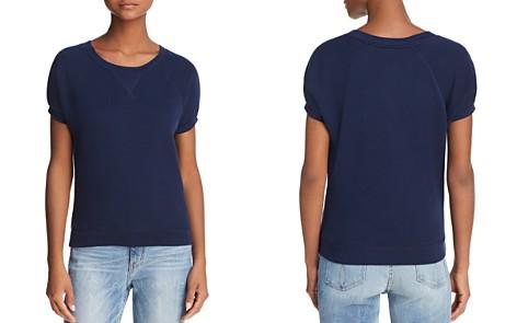 Joie Christal Short-Sleeve Sweatshirt - Bloomingdale's_2