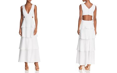 Bardot Cutout Tiered Maxi Dress - Bloomingdale's_2
