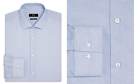 BOSS Micro Dash Slim Fit Dress Shirt - Bloomingdale's_2