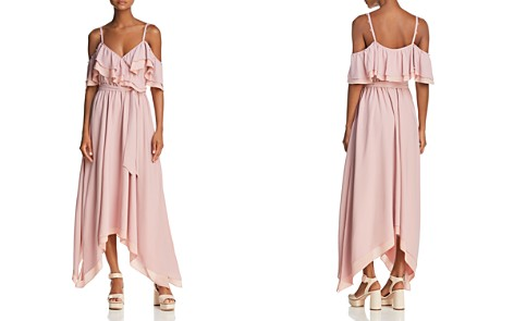 Rebecca Minkoff Hadlee Cold-Shoulder Goddess Maxi Dress - Bloomingdale's_2