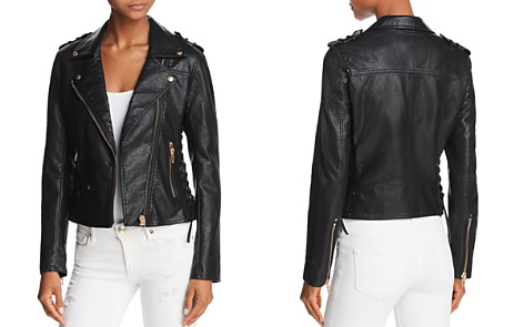 BLANKNYC Lace-Up Faux Leather Moto Jacket - 100% Exclusive - Bloomingdale's_2
