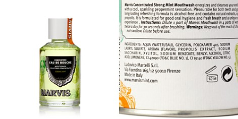 Marvis Strong Mint Mouthwash 4.0 oz. - Bloomingdale's_2