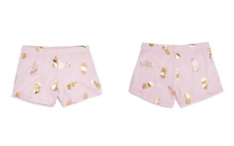 Play Six Girls' Metallic Pineapple Shorts - Little Kid - Bloomingdale's_2
