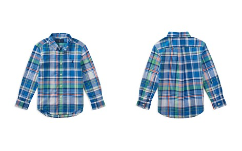 Polo Ralph Lauren Boys' Madras Shirt - Little Kid - Bloomingdale's_2