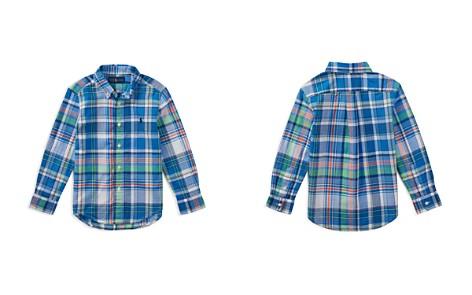Polo Ralph Lauren Boys' Madras Shirt - Little Kid - Bloomingdale's_2