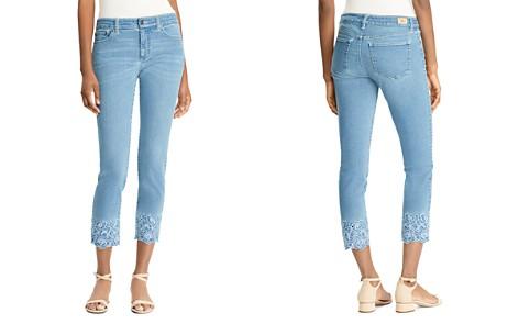 Lauren Ralph Lauren Embroidered-Cuff Straight Crop Jeans - Bloomingdale's_2