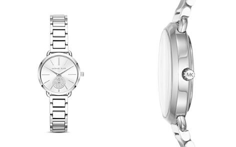 Michael Kors Portia Stainless-Steel Watch, 28mm - Bloomingdale's_2