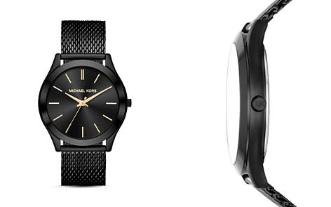 Michael Kors Black Slim Runway Watch, 44mm x 49mm - Bloomingdale's_2