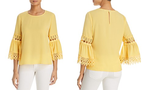 Le Gali Camden Lace Inset Blouse - 100% Exclusive - Bloomingdale's_2