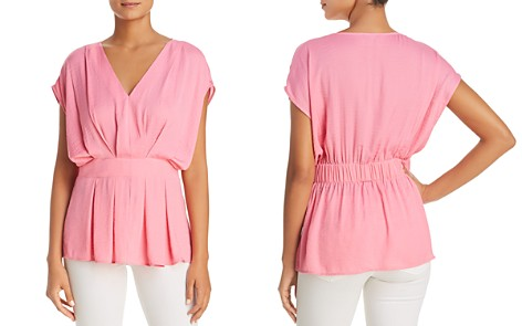 VINCE CAMUTO Textured Pleat Blouse - 100% Exclusive - Bloomingdale's_2