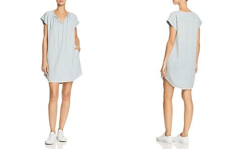 Splendid Frayed Chambray Shift Dress - Bloomingdale's_2