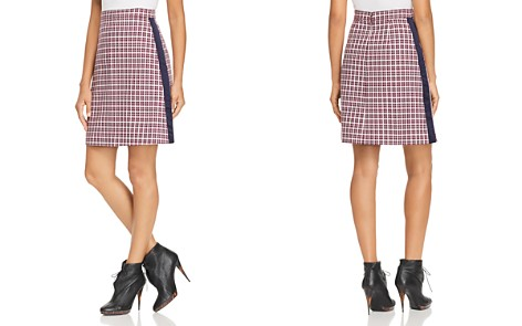 Burberry Stanforth Plaid A-Line Skirt - Bloomingdale's_2