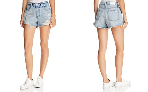 Pistola Nova Relaxed Cutoff Denim Shorts in Got To Be Real - Bloomingdale's_2