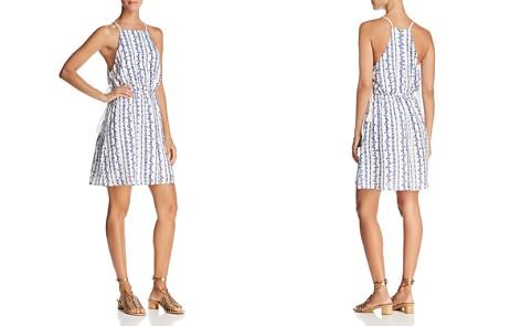En Créme Printed Lace-Up Cami Dress - Bloomingdale's_2