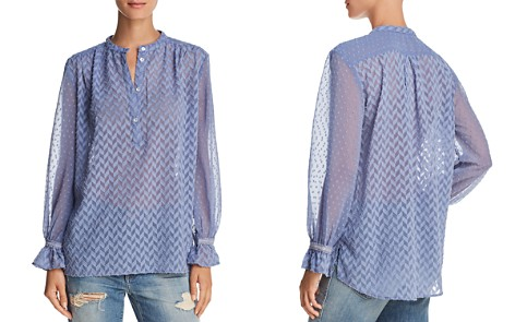 FRENCH CONNECTION Corsica Geometric Pattern Shirt - Bloomingdale's_2